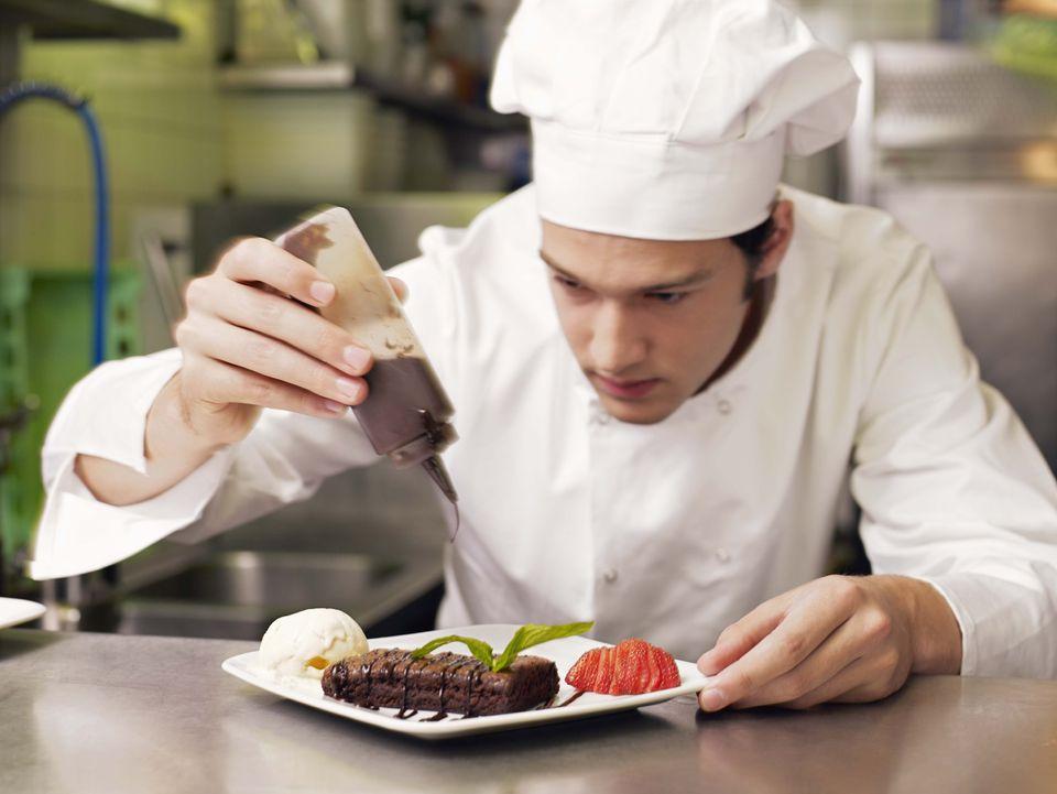 whiten chef coat