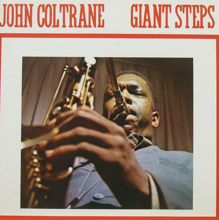 Album cover for Giant Steps, by John Coltrane