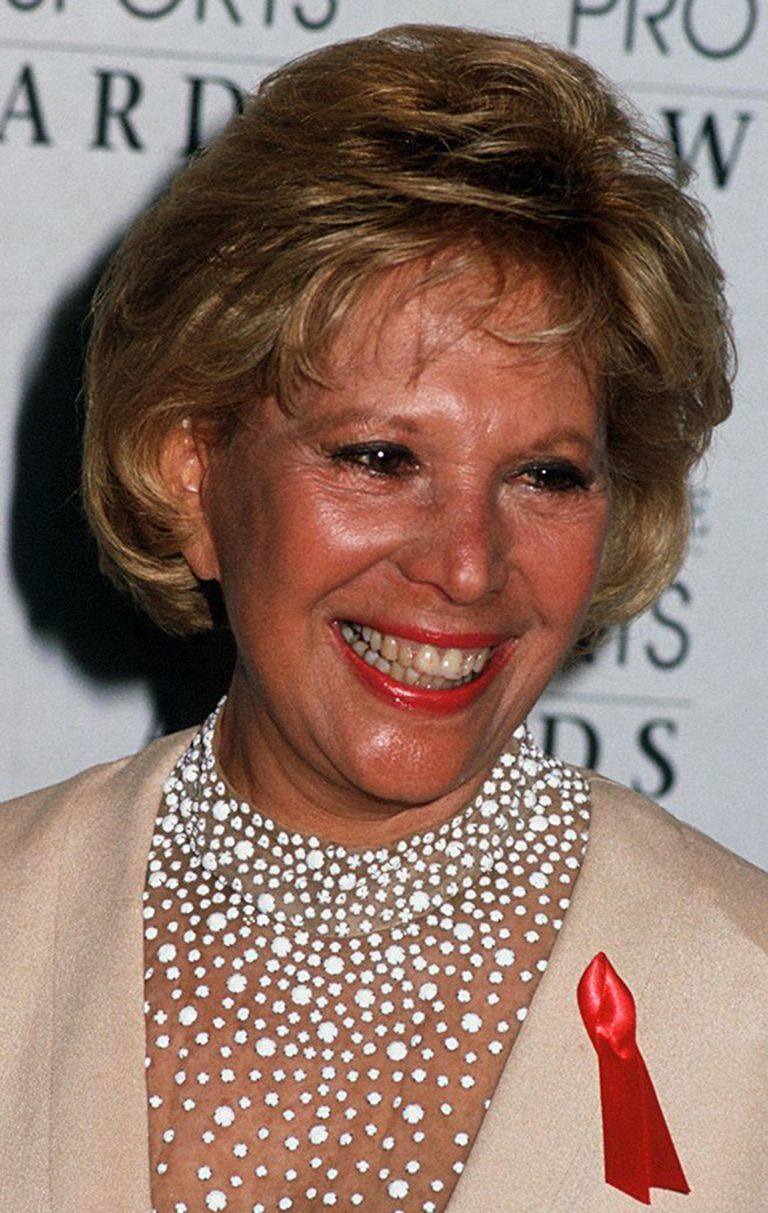 Actress Dinah Shore, circa 1992.