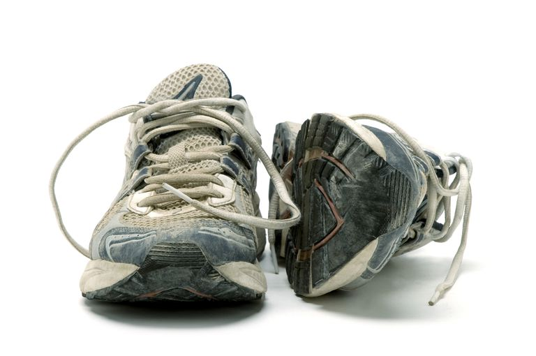 Old Walking Shoes