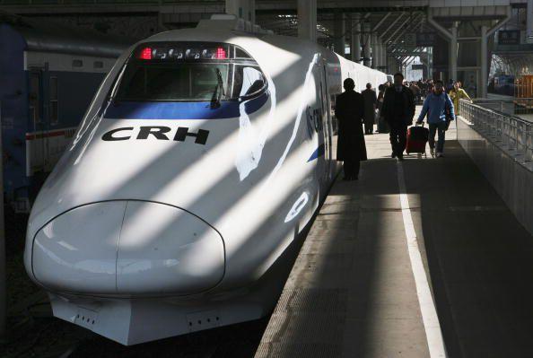 High Speed Train - Bullet Train