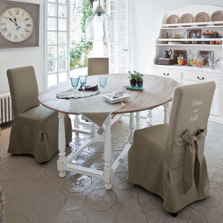 Mesas de comedor: forma, material y tamaños