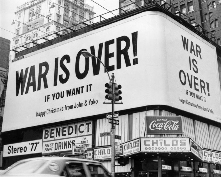 War Is Over by John Lennon