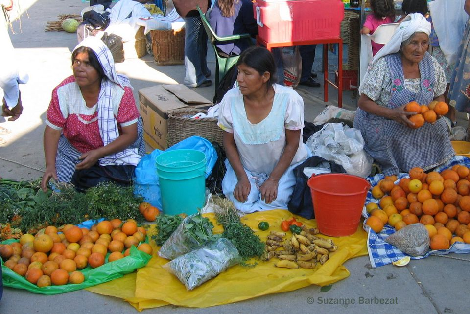 Tianguis marketplace in Oaxaca, Mexico