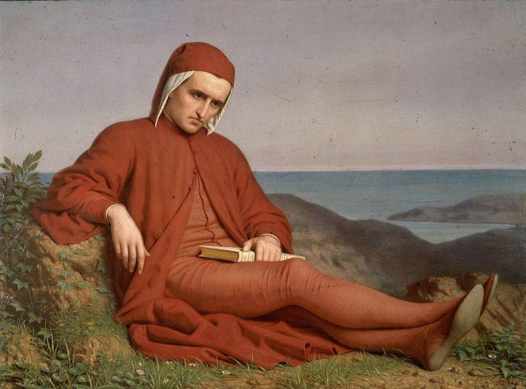 Dante en el exilio