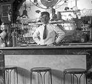 Clerk at Soda Fountain