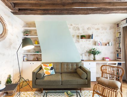 27 ways to create a surprisingly stylish small home office small spaces - Design For Small Space
