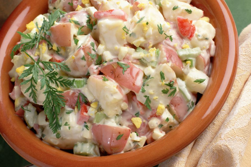 Potato Salad With Red Potatoes