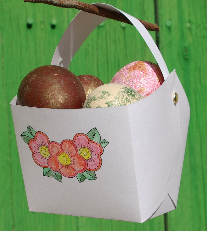 Easy Easter Basket