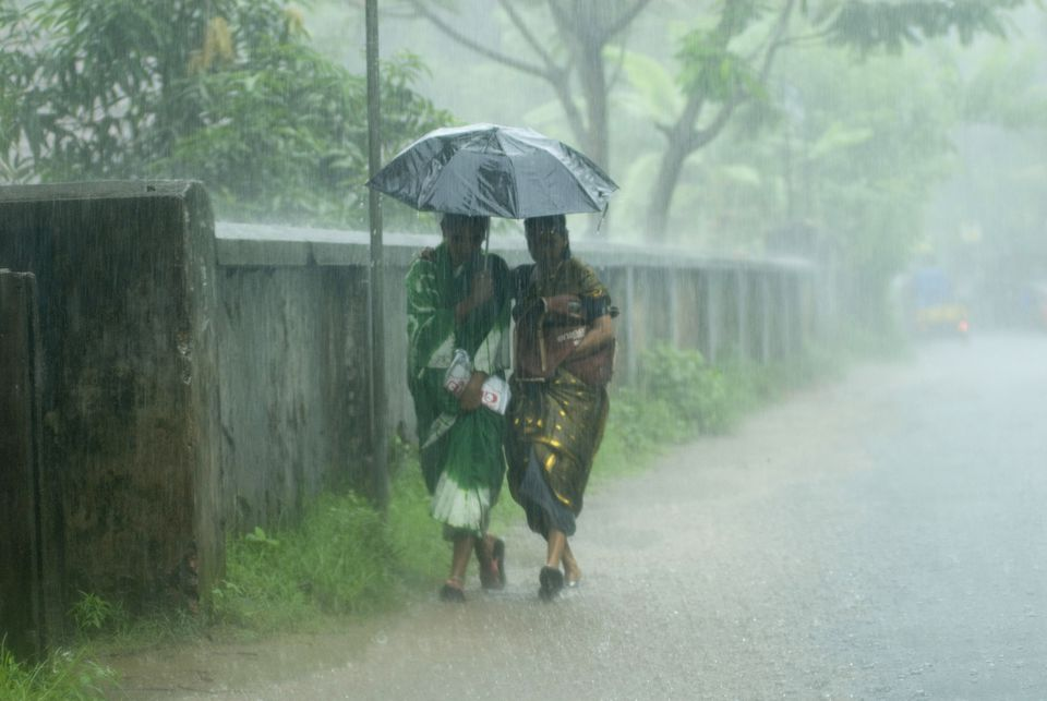 Monsoon in India.