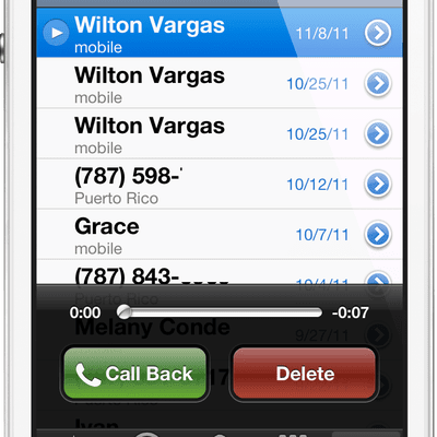 how to get visual voicemail on iphone what is voicemail 20120