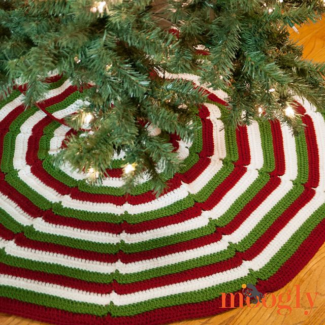 Crochet Tree Skirt Free Pattern
