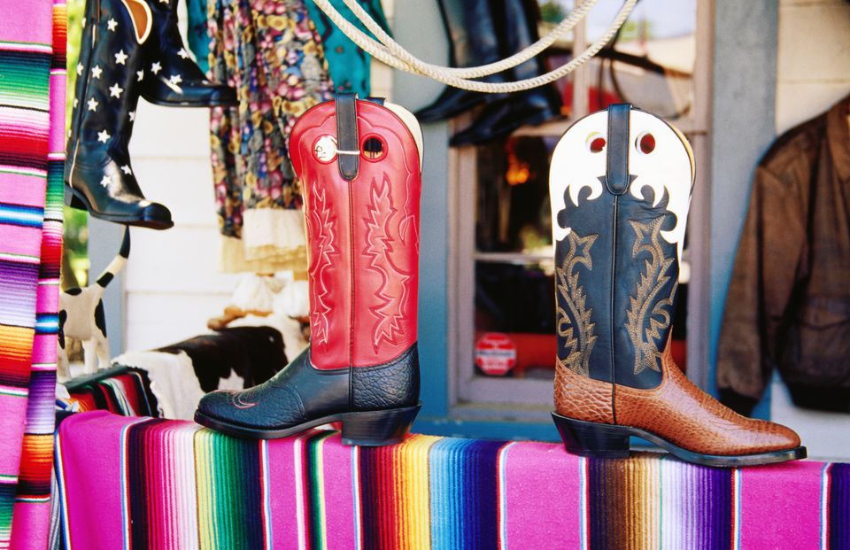 Boot store in Texas