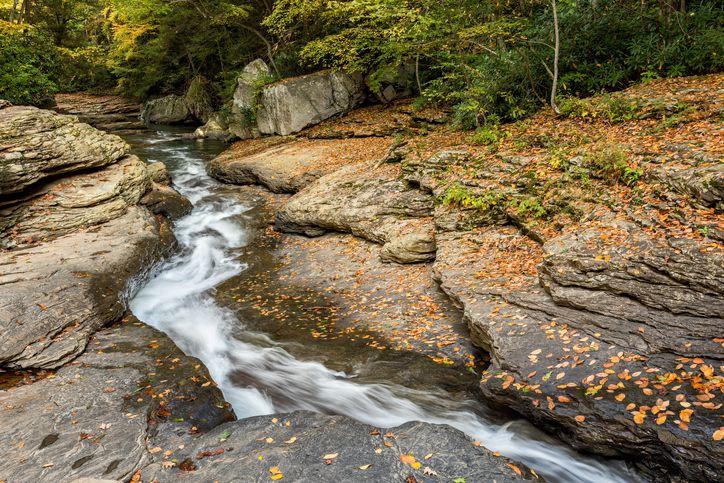 Flume Waterslide, Ohiopyle State Park