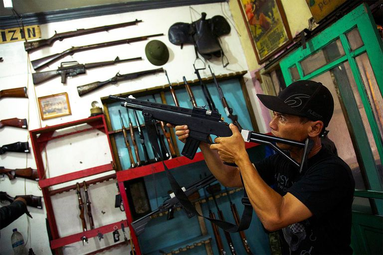 Gunsmiths At Work In Indonesia's Air-rifle Capital