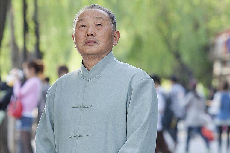 Senior Man Portrait in Houhai