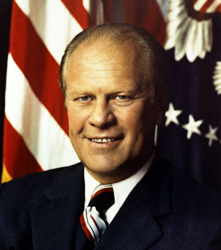 Picture of President Gerald Ford - an official portrait.