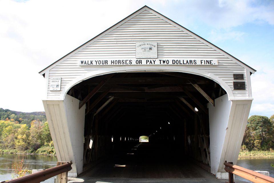 New Hampshire Covered Bridge Cornish-Windsor