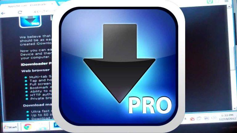 idownloader, app para descargar archivos en ipad