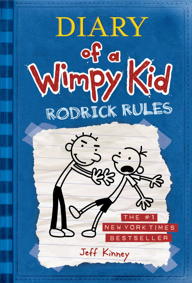 Diary of a Wimpy Kid: Rodrick Rules - Book 2 cover