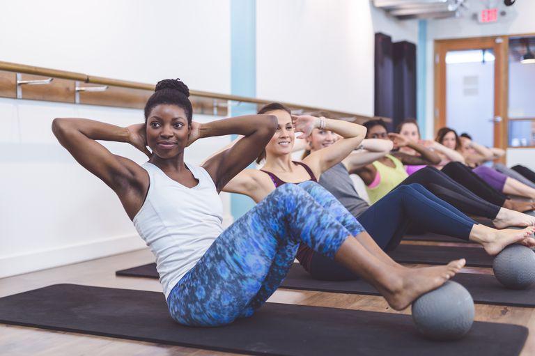 Sexy Kvinner På Treningsstudio Naken