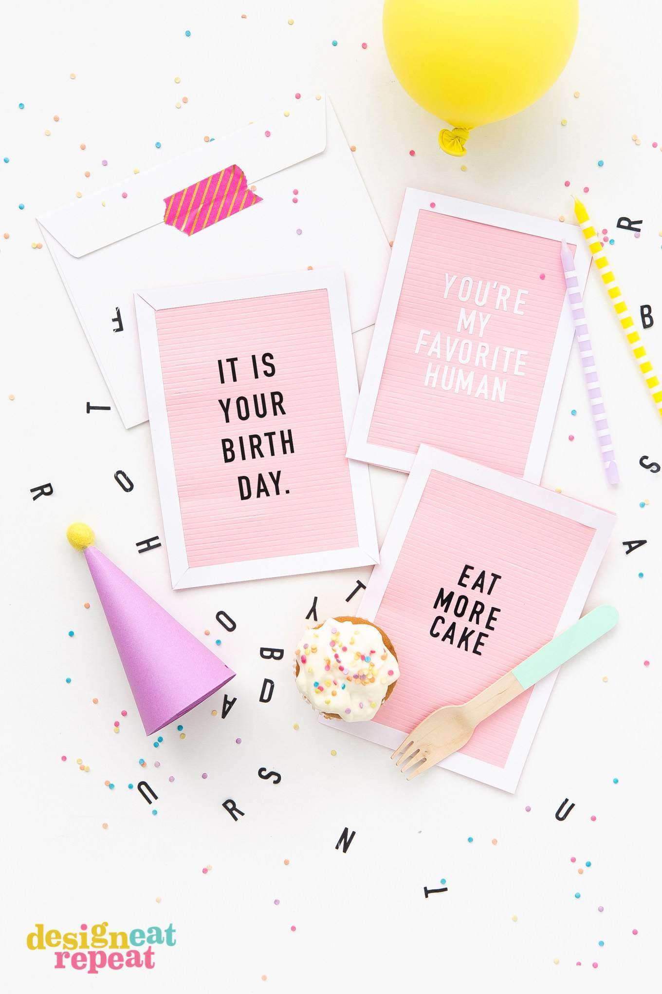 25 of the best diy birthday cards kristyandbryce Choice Image