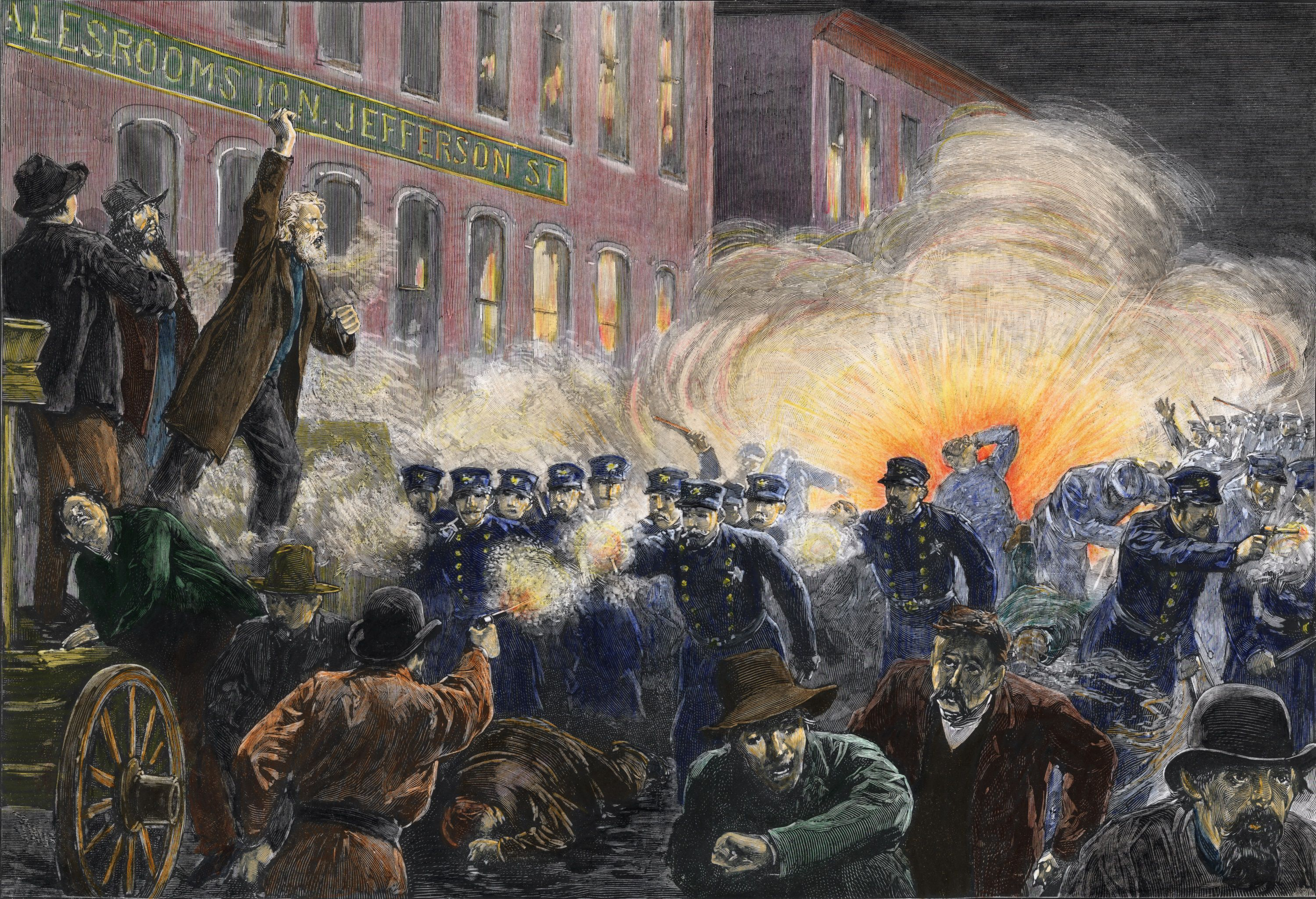the details of the infamous haymarket square riot