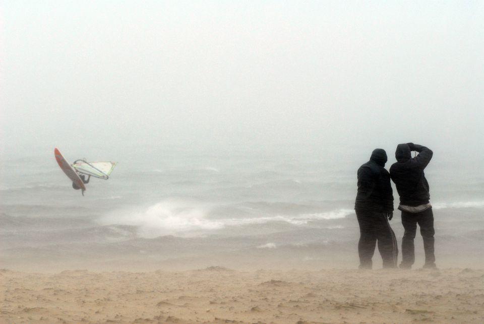 Hurricane Noel Brushes By New England