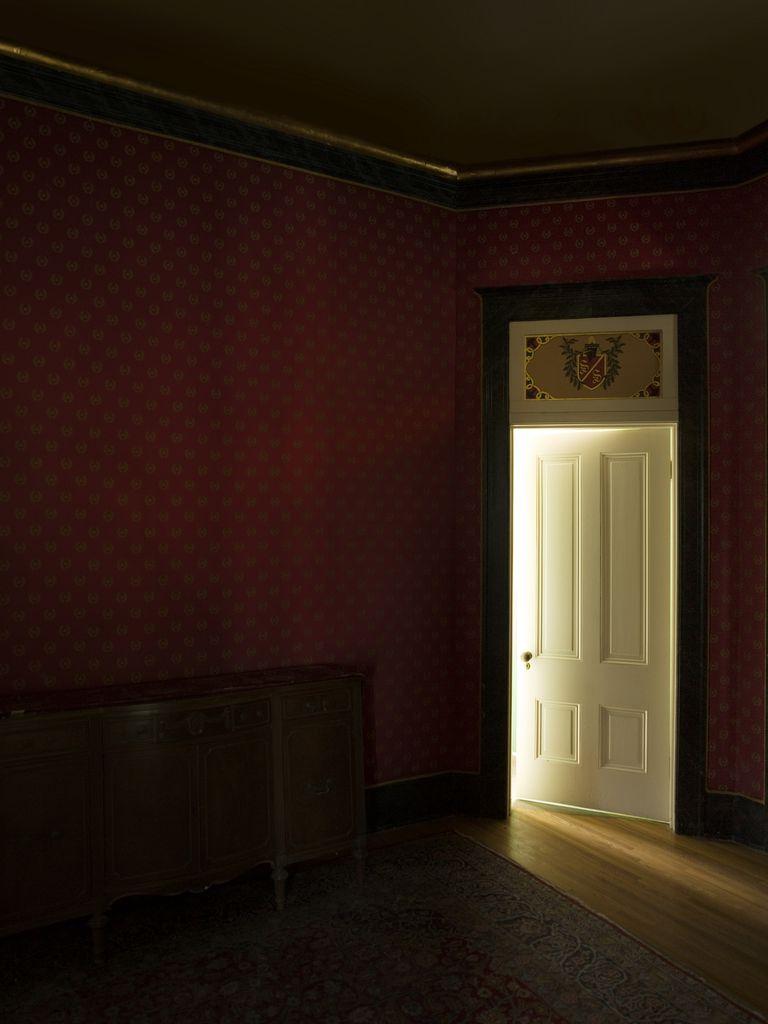 A dark, empty room