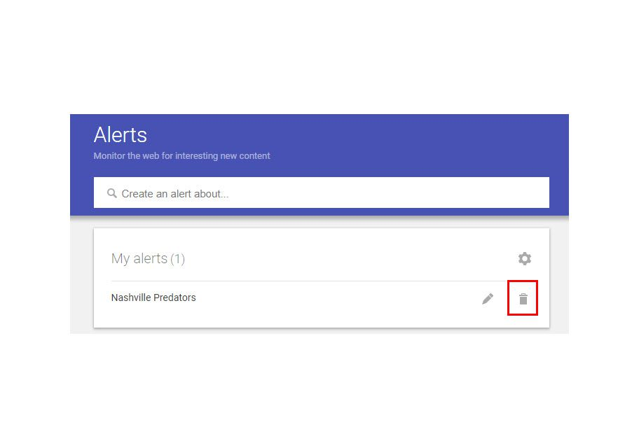 how to make google news alerts stop