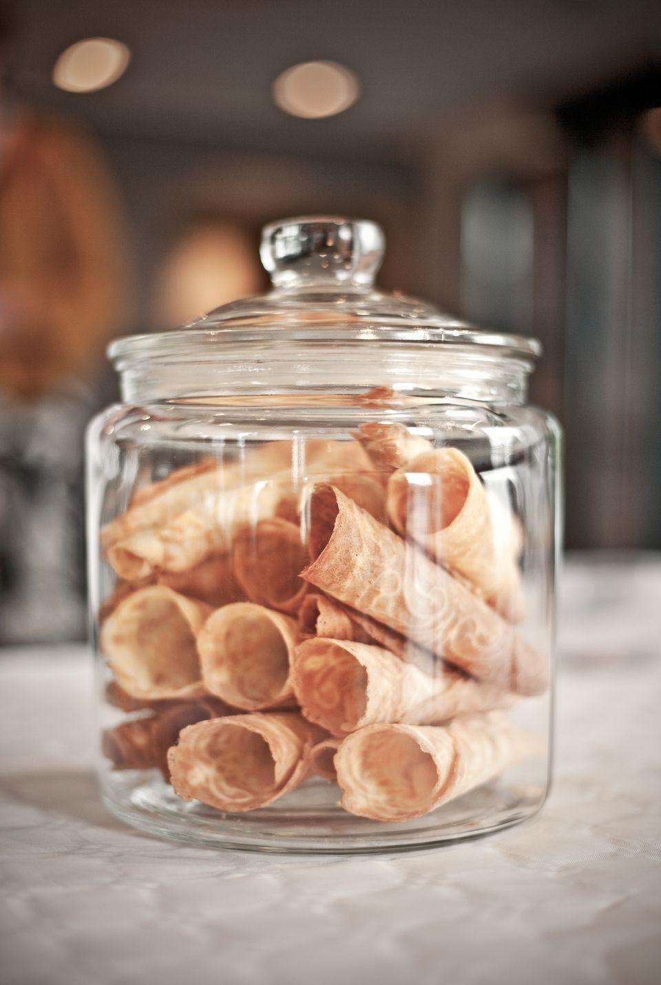 Krumkake Cookies