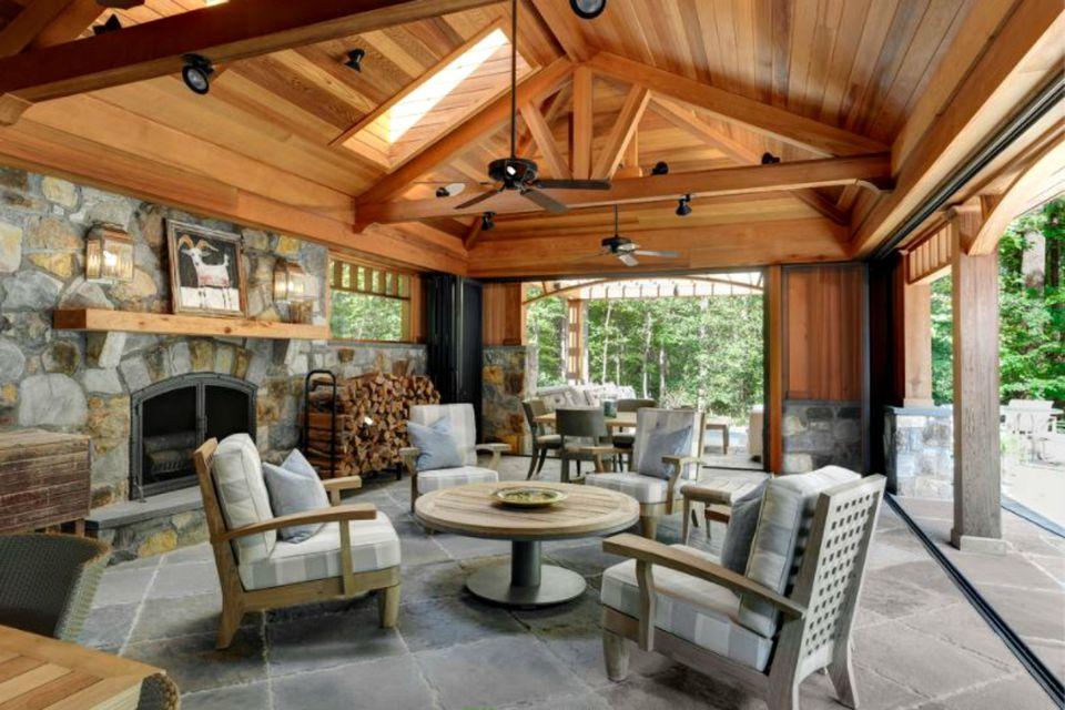 50 Outdoor Living Room Design Ideas