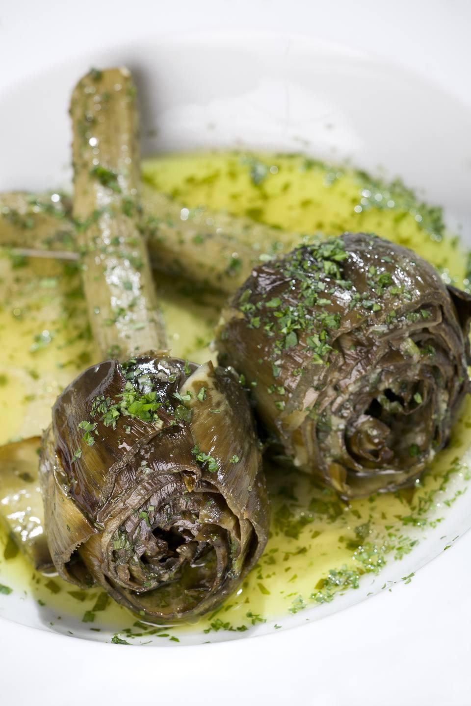 Roman-Style Artichokes - Carciofi alla romana