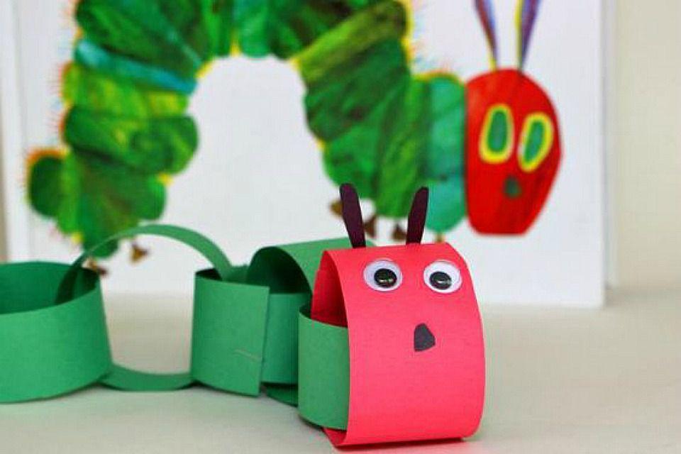 Hungry Caterpillar Paper Plate Craft