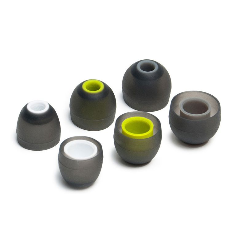 Three pairs of Itis Silicone Eartips for Jaybird earbuds