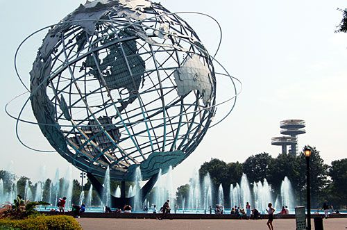Globe at Flushing Meadows Park