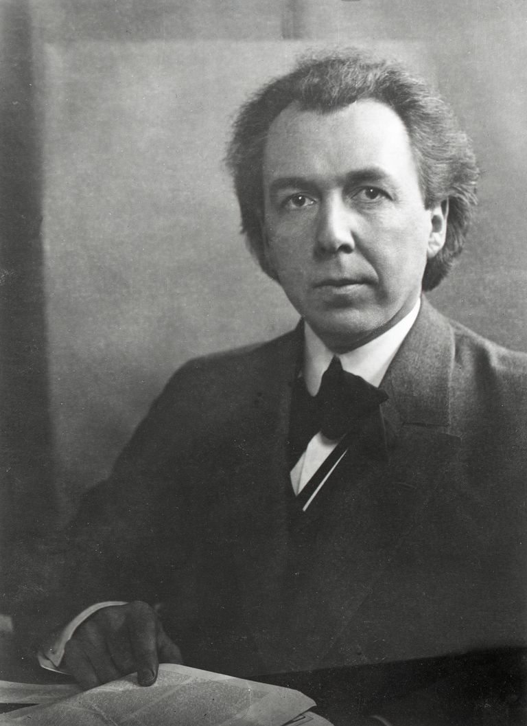 Picture of Frank Lloyd Wright, American architect.