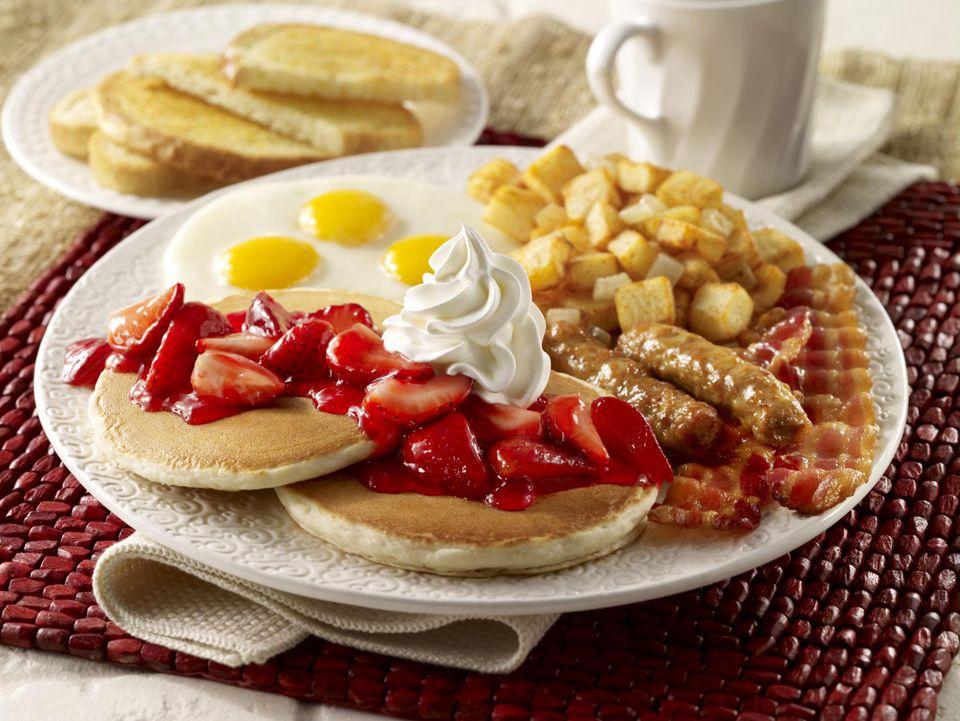 Strawberry Pancake Breakfast