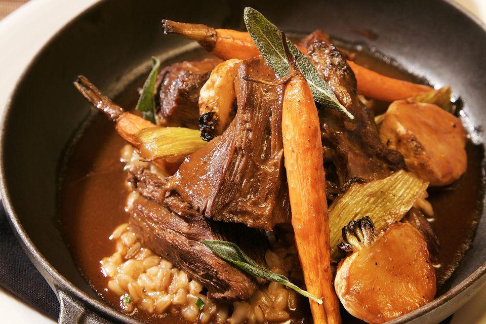 Buffalo pot roast