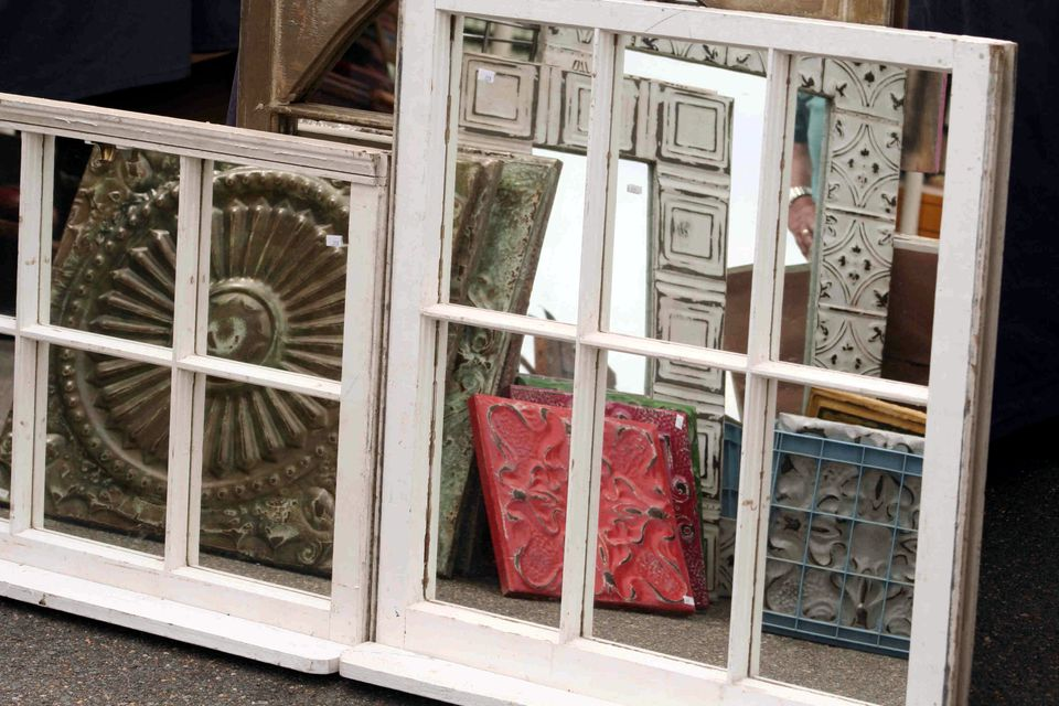 Ways to Repurpose Old Windows as Art