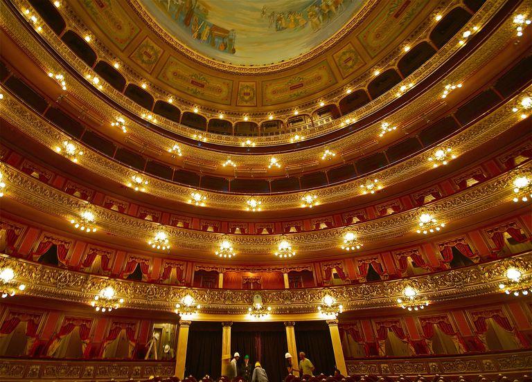 Teatro Colón en Buenos Aires