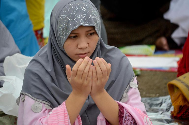 Filipino Muslims Celebrate End Of Ramadan
