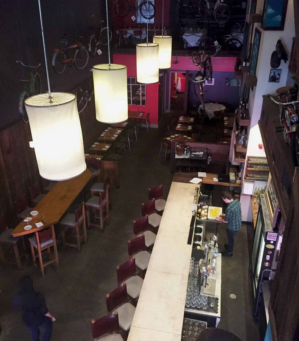 Inside Greenhouse Tavern