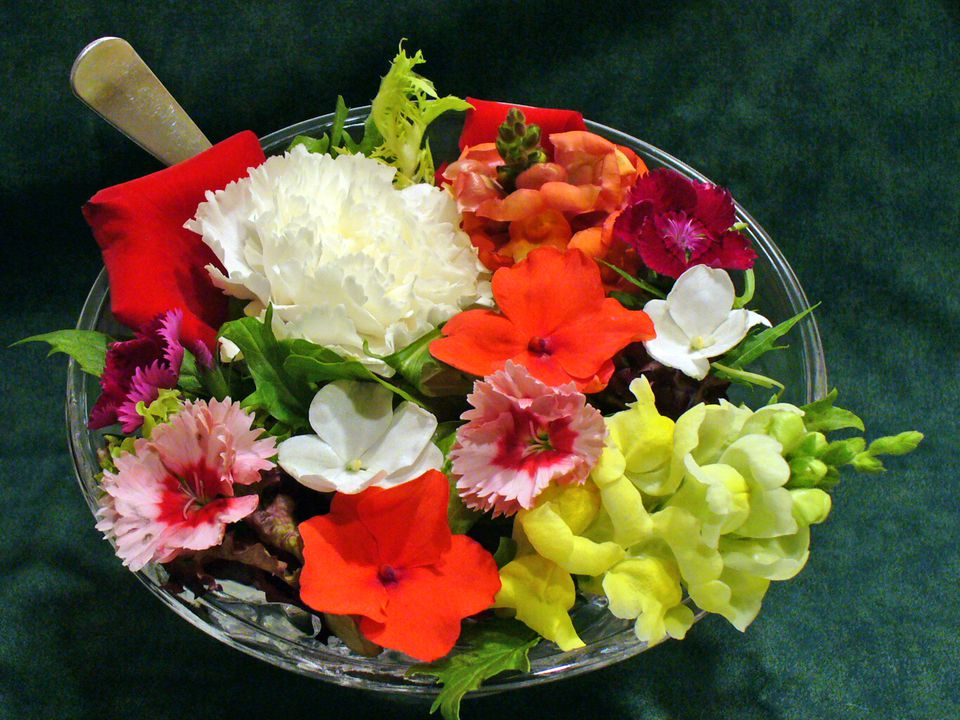 edible flowers recipes cooking how to receipt food