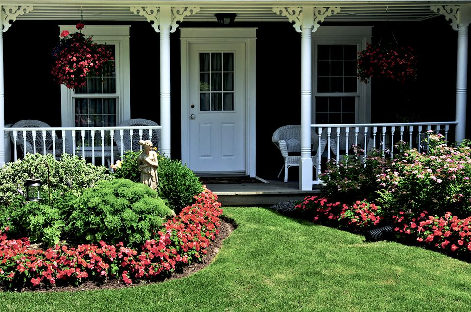 boost curb appeal landscaping