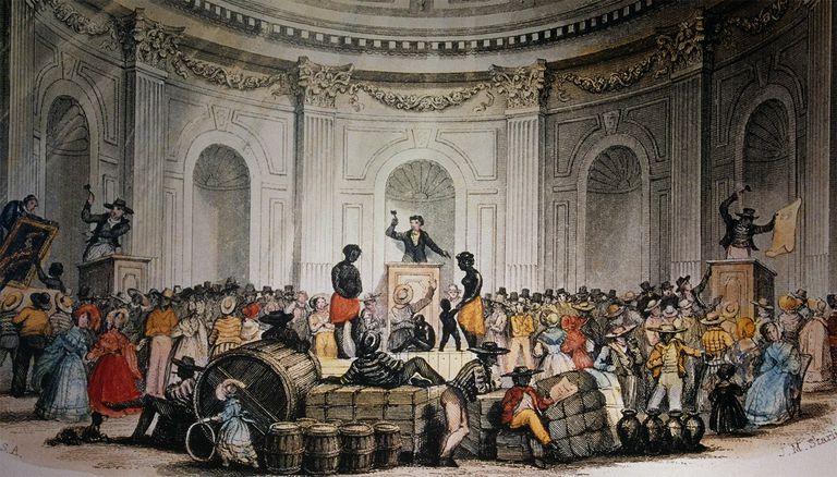 Slave Market in Louisiana