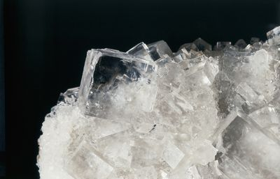table of chemicals used to grow crystals