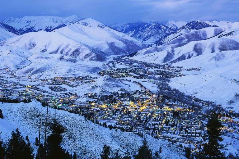 The views from the top of Sun Valley