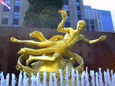 Prometheus at Rockefeller Center in New York City