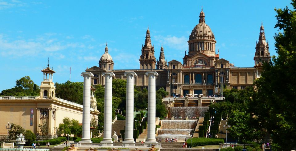 MNAC museum on Montjuïc, Barcelona
